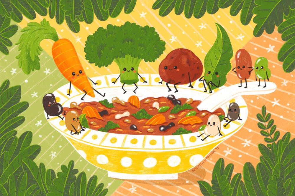 """Hearty Vegetarian Stew"""