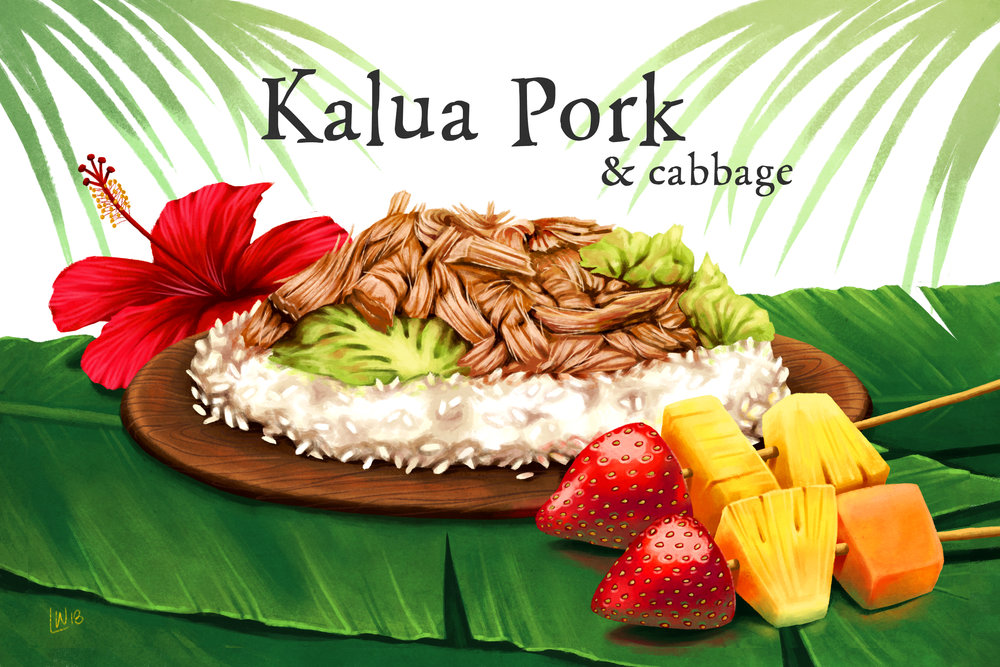 """Kalua Pork and Cabbage"""