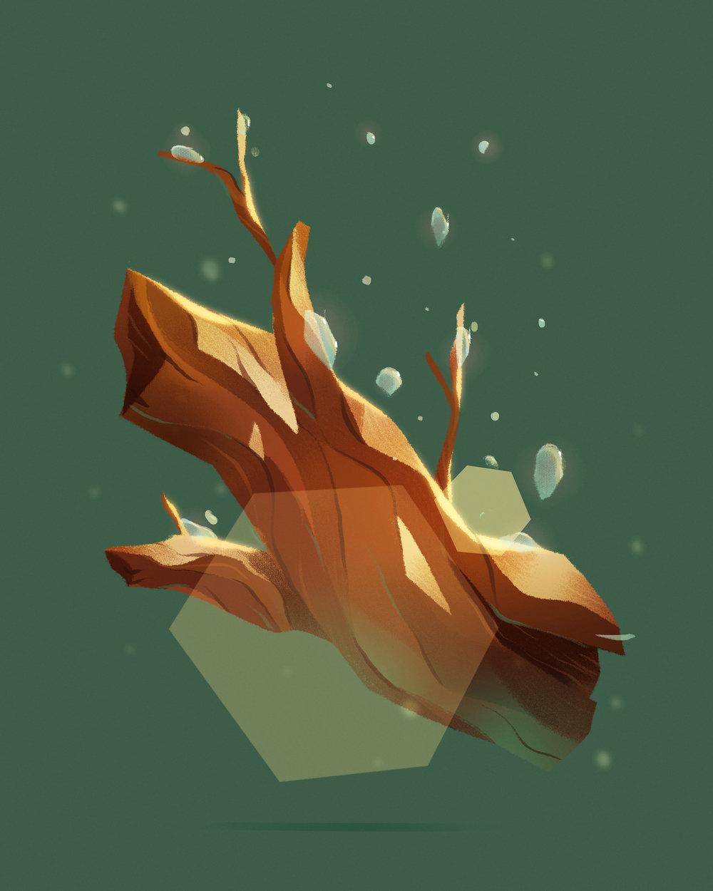 """Scent: Moist Wood"""