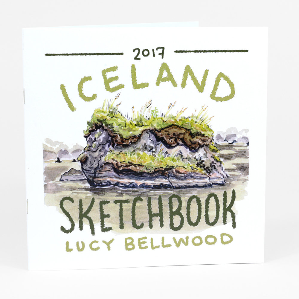 Sketchbook: Iceland, 2017