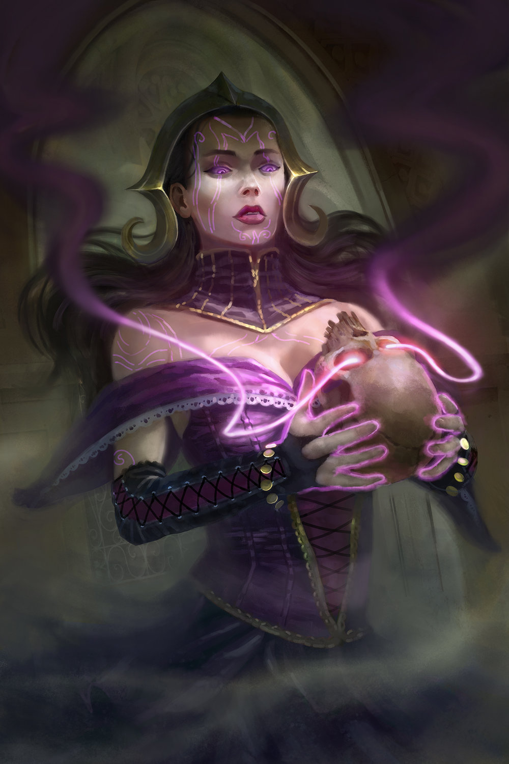 """Liliana's Soul Burn"""