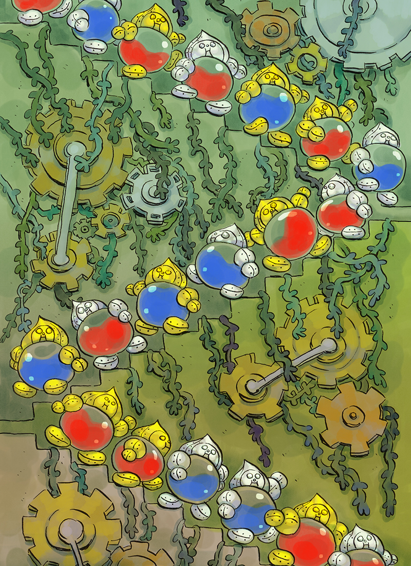 """""""March of the Bottle Gnomes"""""""
