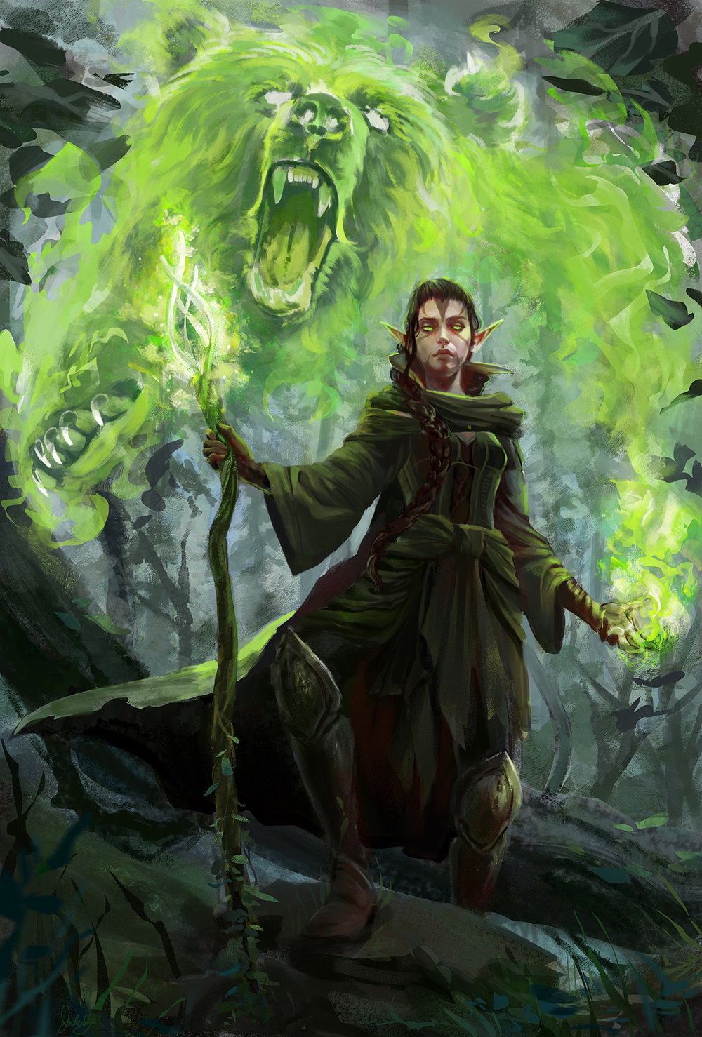 """Nissa, Protector of the Grove"""