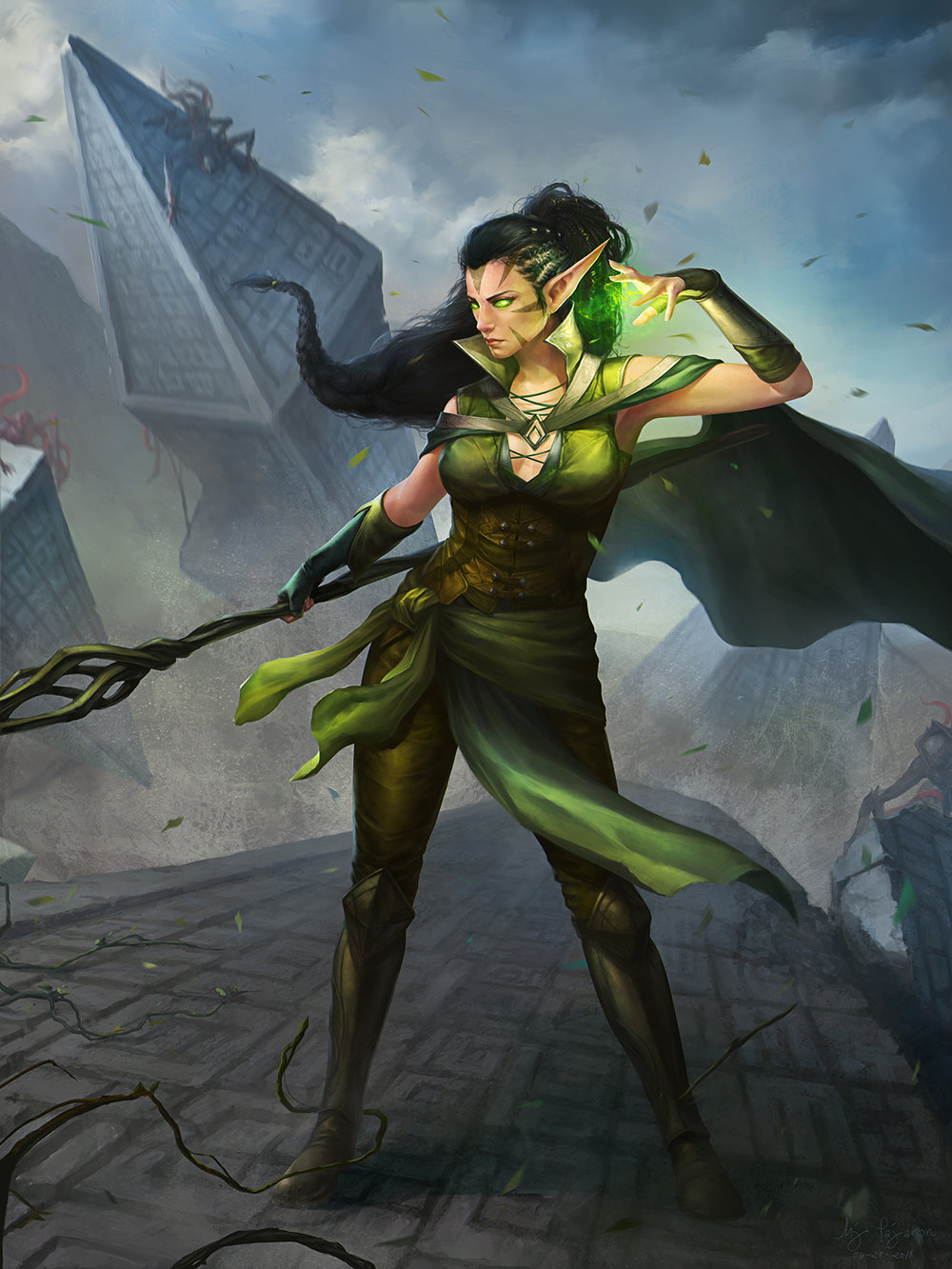 """Nissa, Defender of Zendikar"""