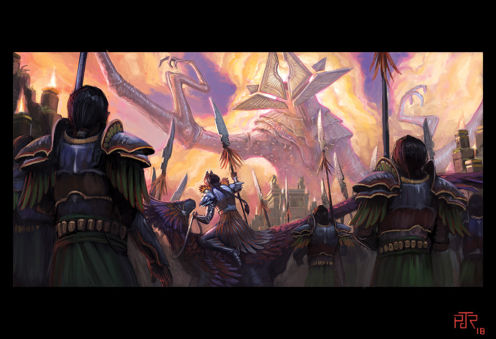 """The Eldrazi Come to Ixalan"""