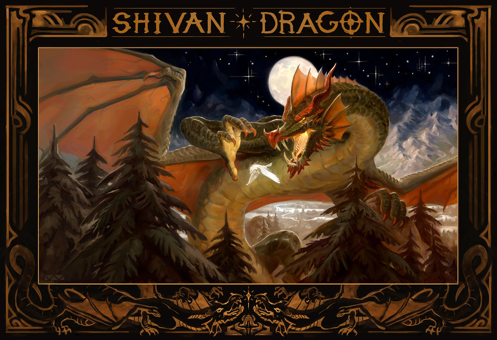 """Shivan Dragon"""