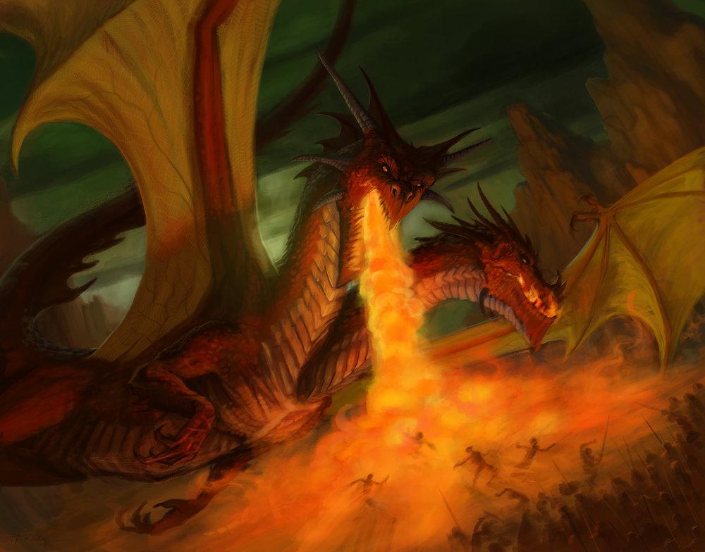 """Two Headed Dragon"""