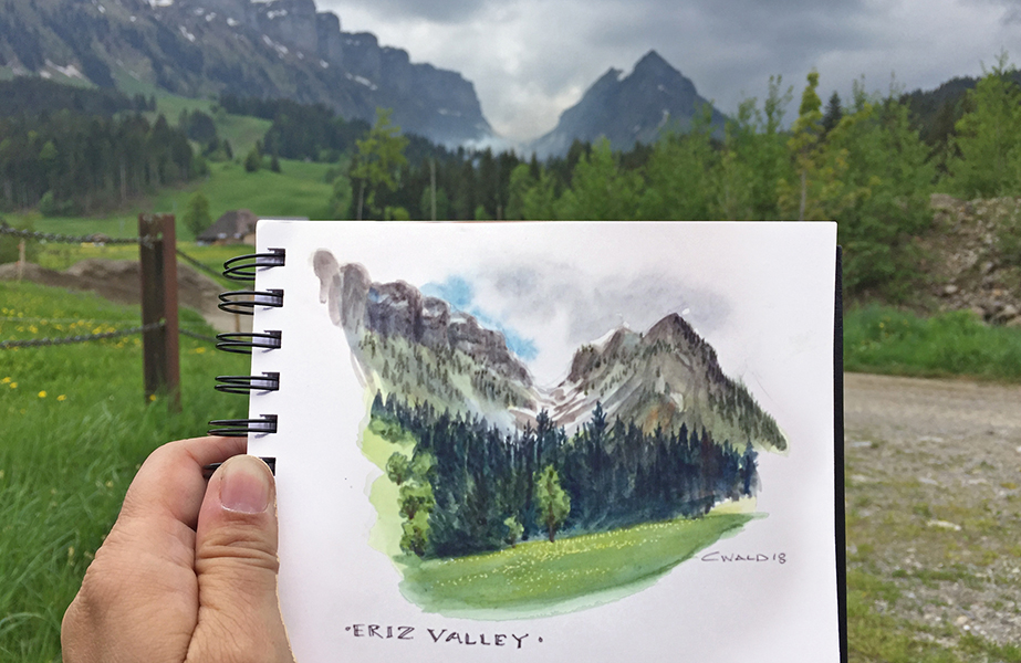 Christina Wald-Painting of Eriz Valley-LO.jpg