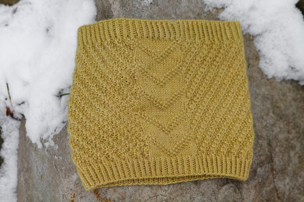 Chevron side of cowl