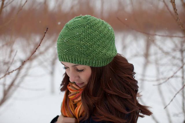 Calm Frenzy Hat, in Luna Grey Orion, Moss