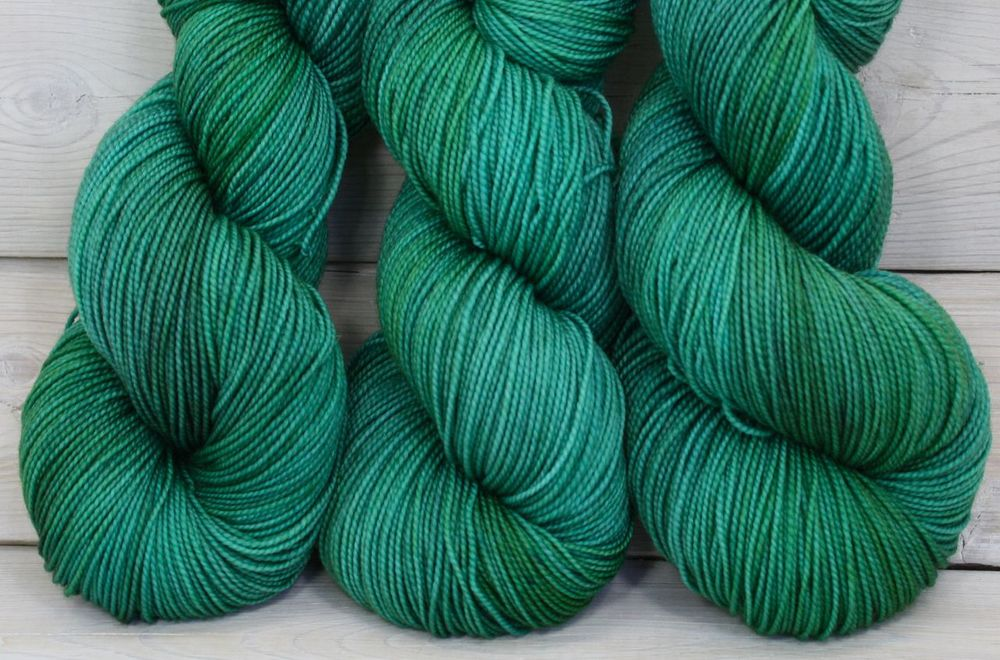 """Viridian"" colorway, one of my personal favorites, on the Celeste base"