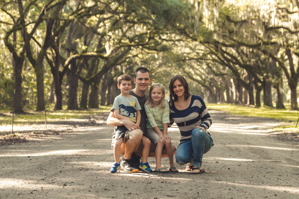 Maybe my favorite family shot of ours ever....at Wormsloe Plantation, which was such a sight to see!