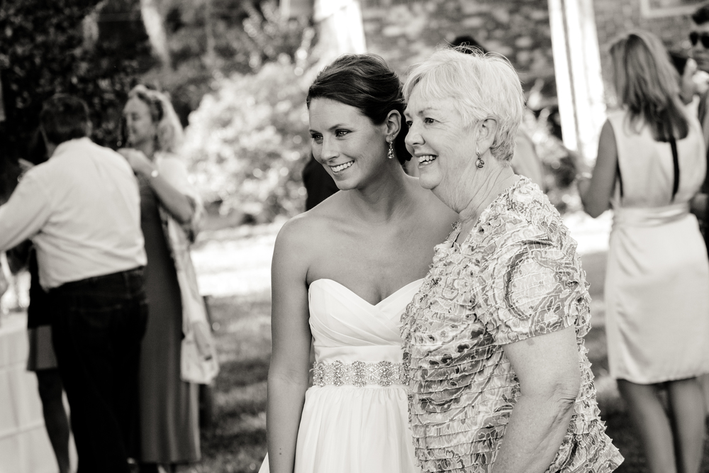 Lizzie and her new Mother in Law.