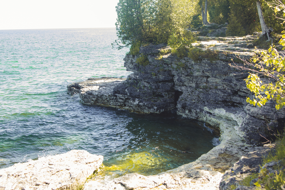 Cave Point County Park, Door County, WI