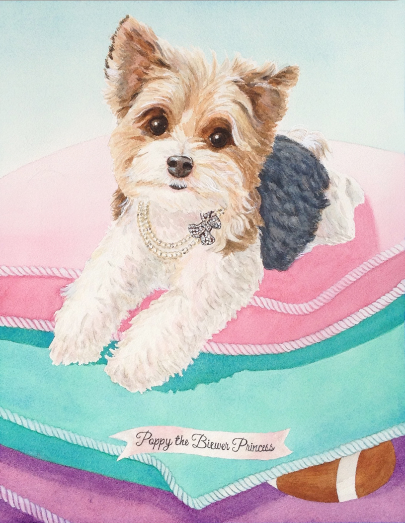 Poppy, Lux Puppy