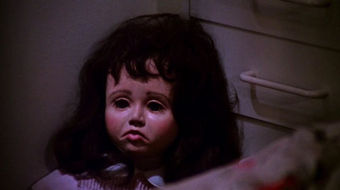 Hi! I'm a creepy doll that probably seems important now, but like anything else of significance, I get left behind in the middle of the movie!