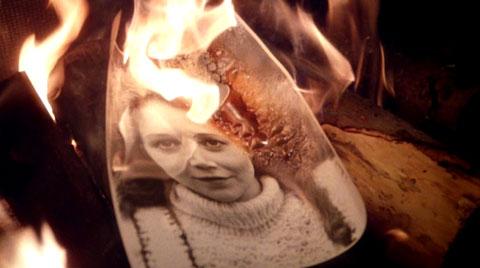 Fire burn and portrait bubble...