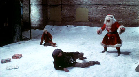 Santa Claus will cut you!!