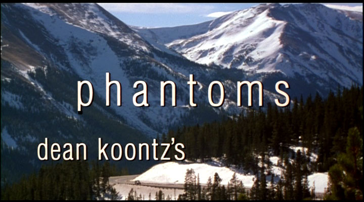 "Ooh, I love Phantoms' books!  I am so excited for this adaptation of ""Dean Koontz""!"