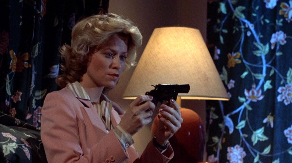 Janey's got a gun.