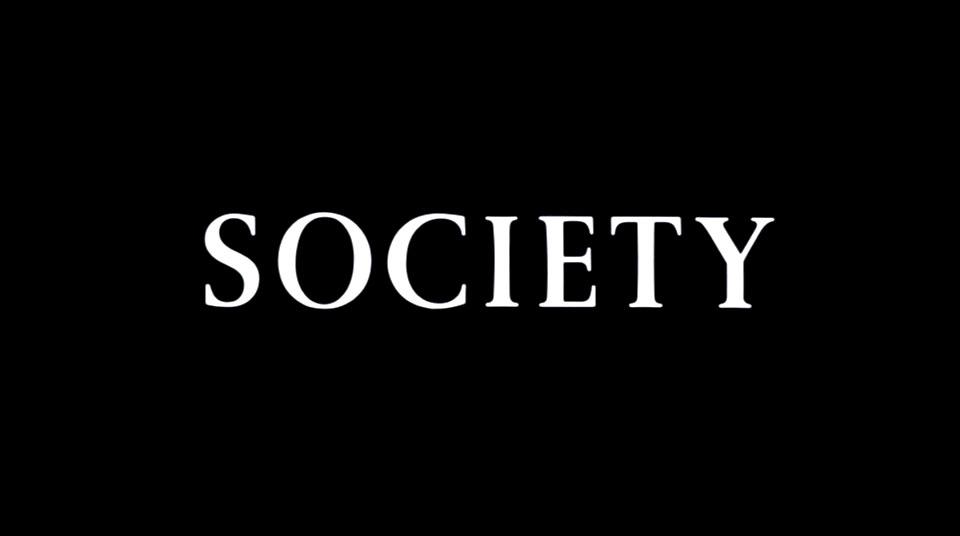 Me, I blame society.