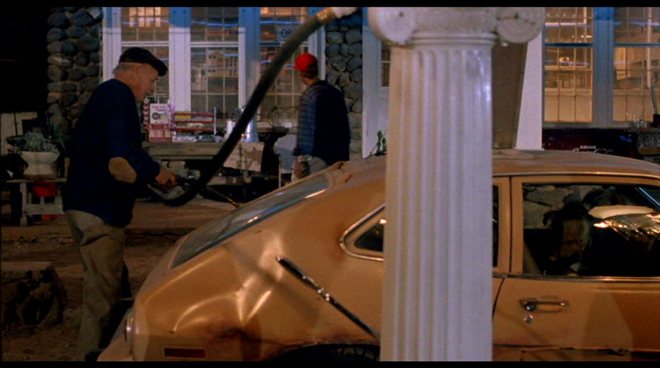 CAP: Can you believe this dickweasel parked on the wrong side of the pumps?  I kinda want him to die now just for that.