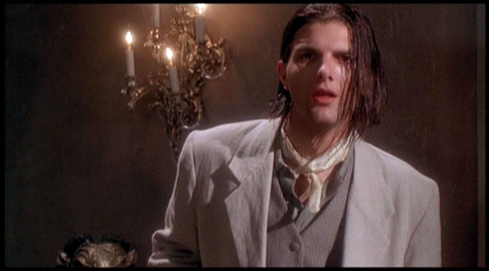 CAP: Adam Scott IS Brad Pitt AS Louis de Pointe du Lac IN Interview with the Vampire!
