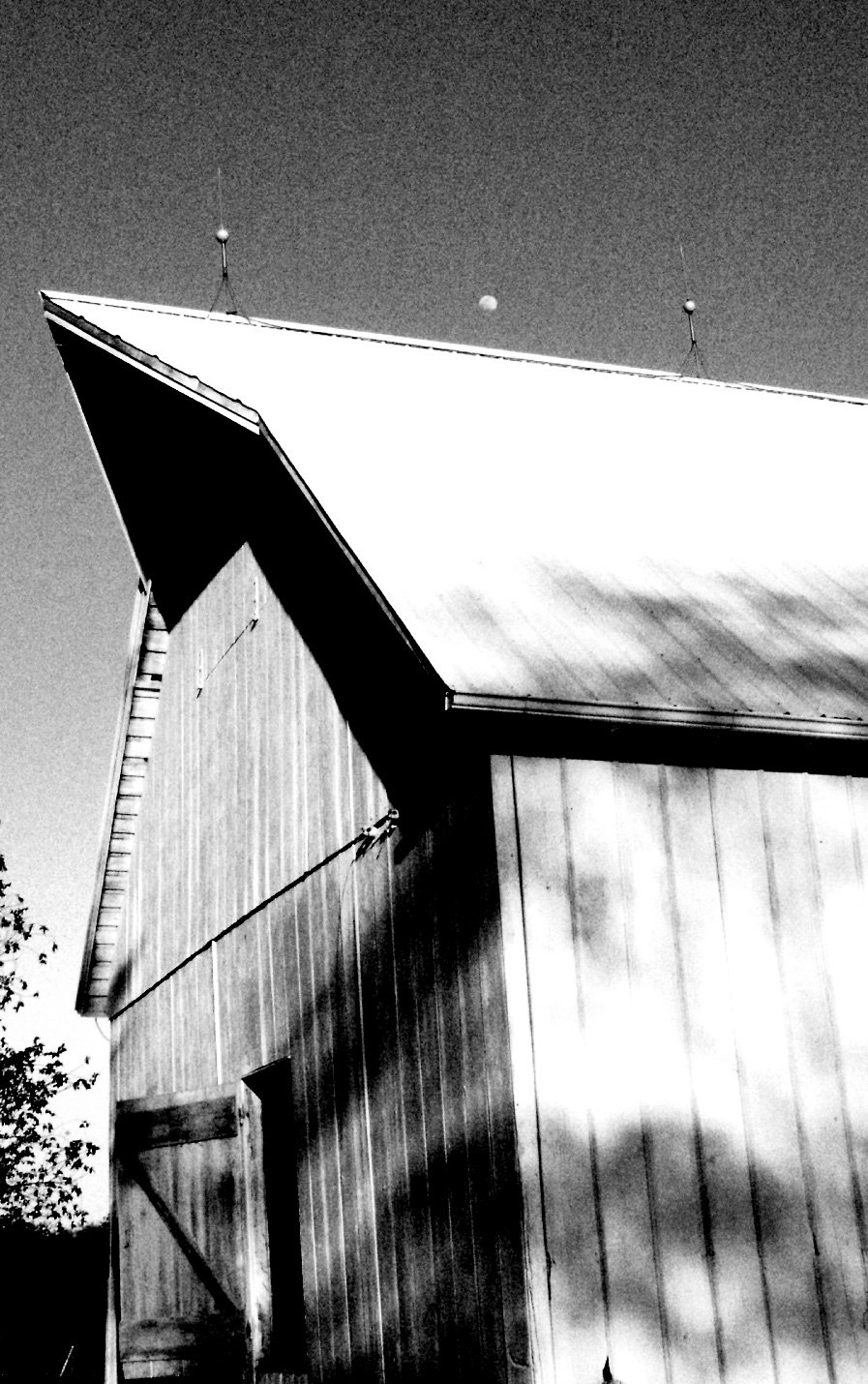 Cow Barn, May 2003