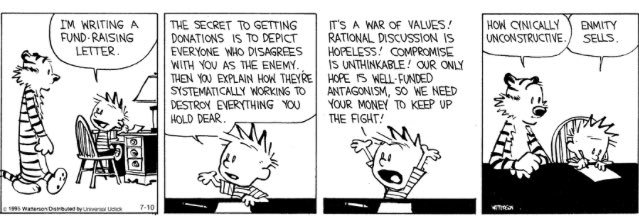 © 1995 Bill Watterson/Andrews McMell Syndication via  @calvinn_hobbes