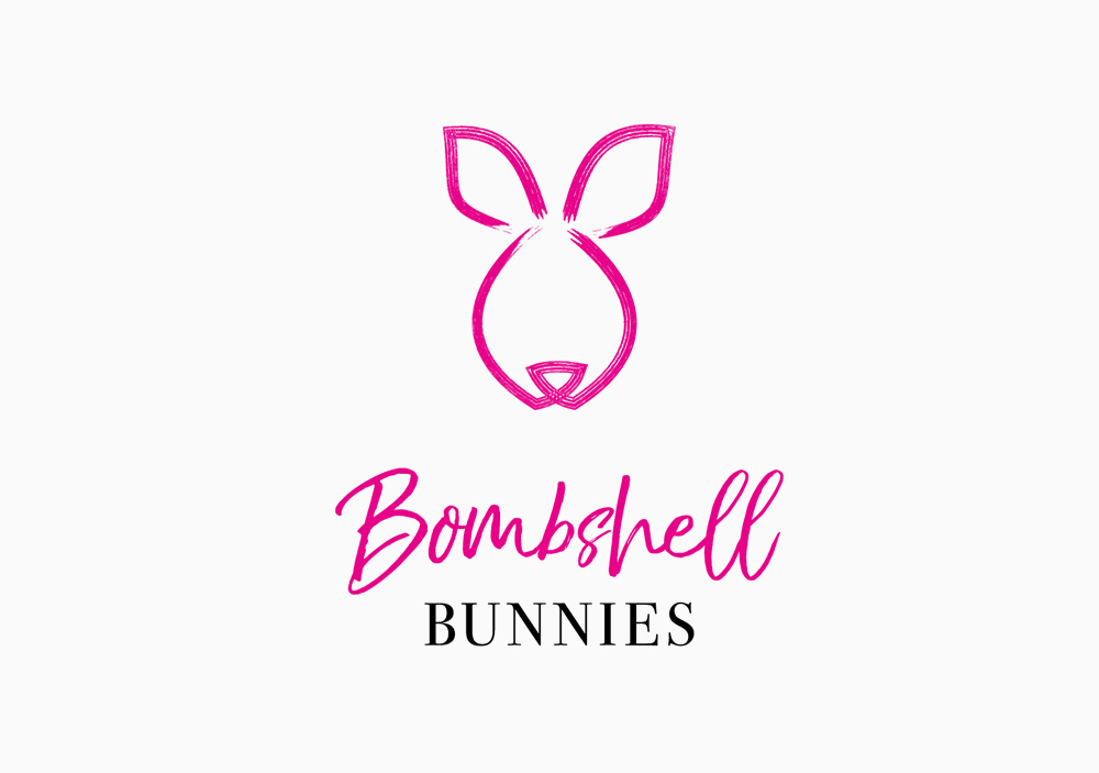 Bombshell Bunnies - Personal Logo for Company Team