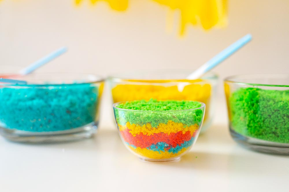 Kids Birthday Party: DIY Cake Bar - Final Layer