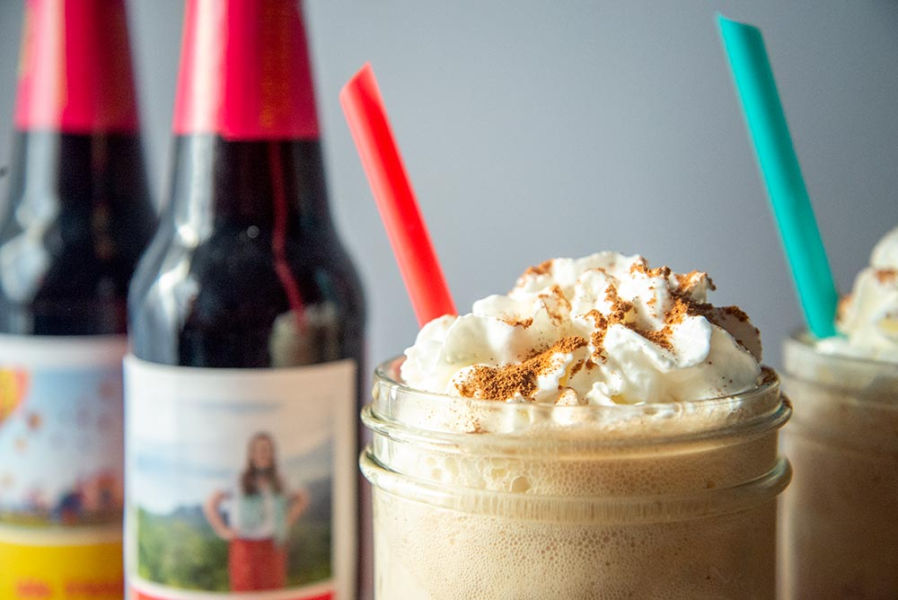 Cinnamon Root Beer Float - Toppings