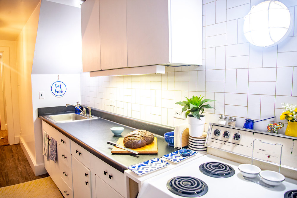 Rental Kitchen Update on a Budget
