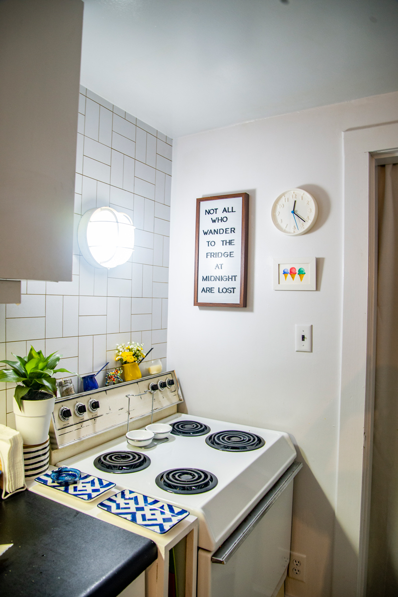Kitchen - Wall Decor with Letterboard