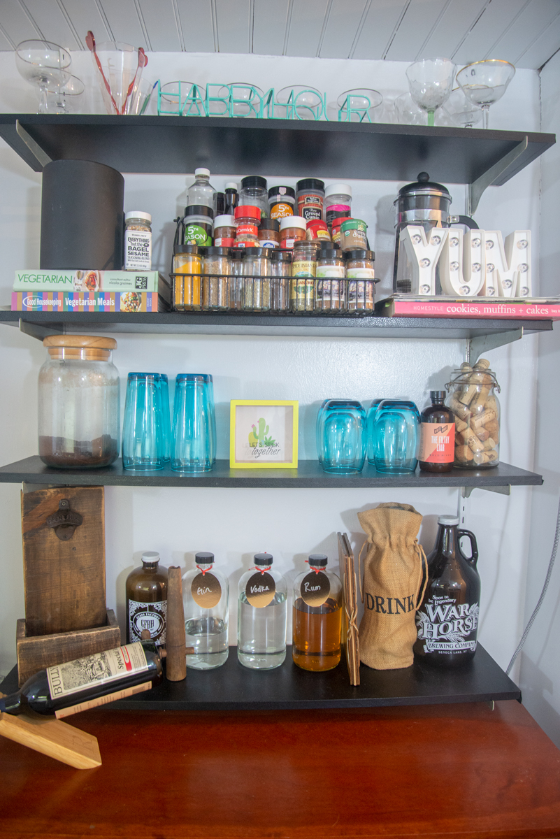 Kitchen DIY Shelving