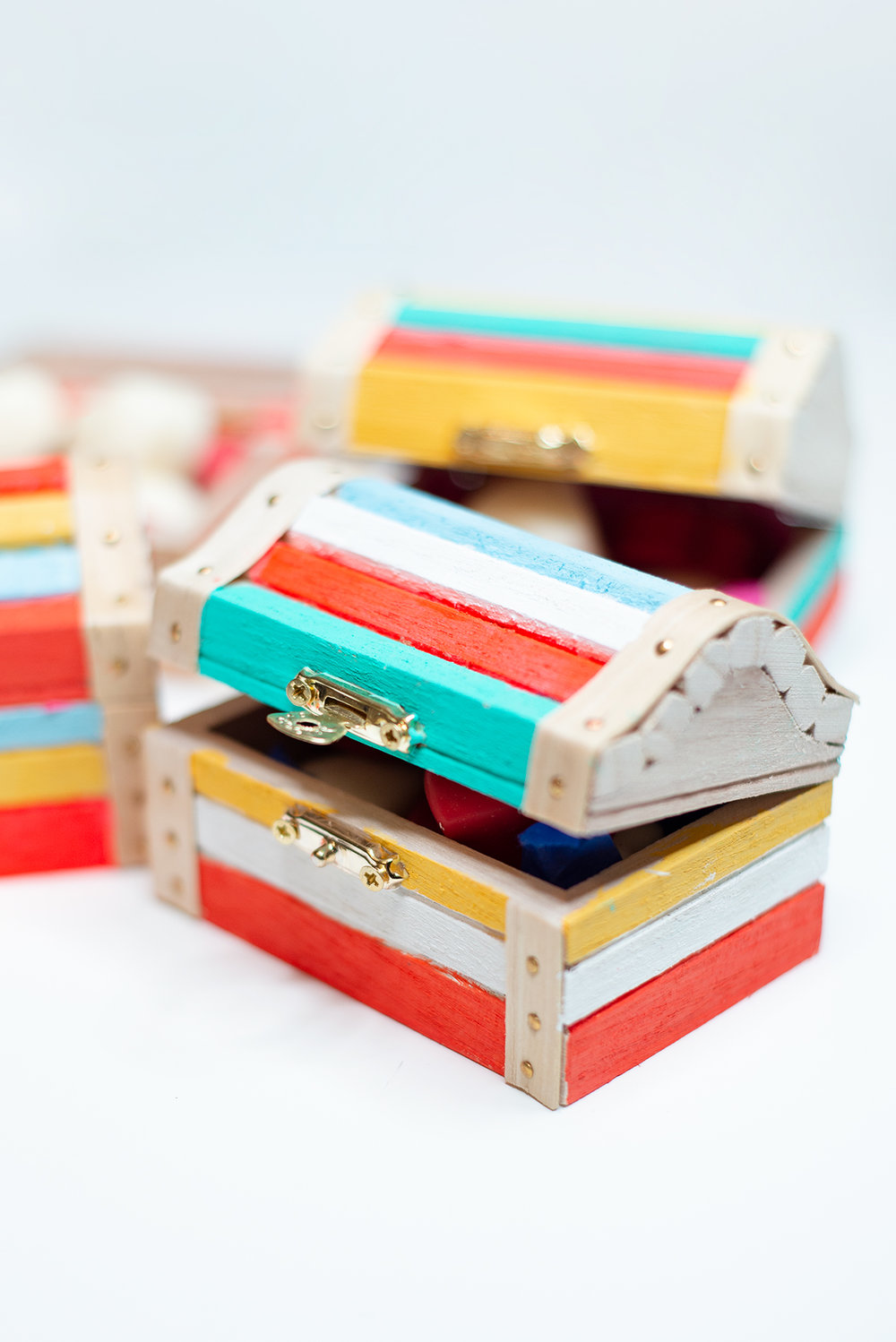 Painted Chocolate Boxes