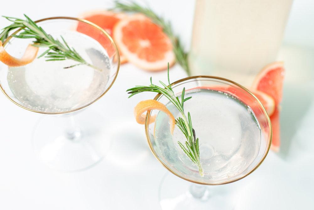 Easter Brunch Elderberry Cocktail