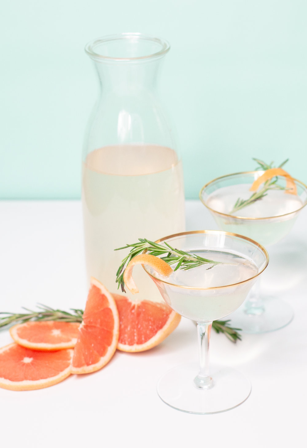 Grapefruit Elderberry Cocktail for Easter Brunch