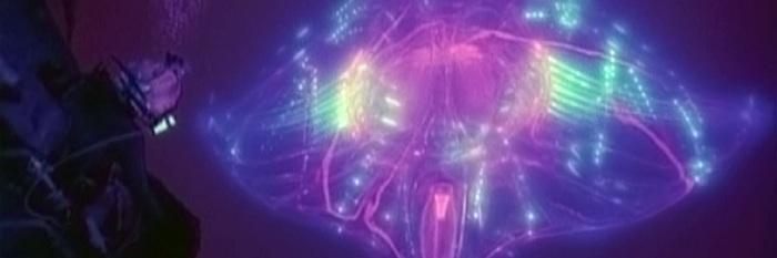 Kadr z filmu Głębia (1989), reż, James Cameron