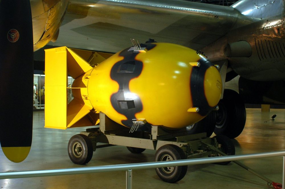 Grubas. Foto: Narodowe Muzeum USAF.