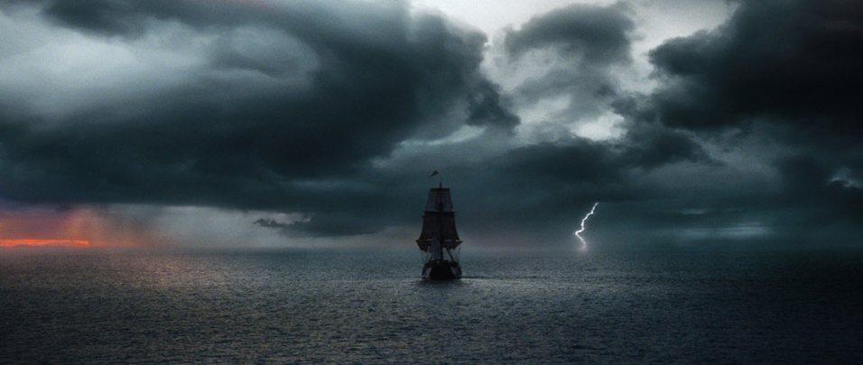 Kadr z filmu Atlas Chmur
