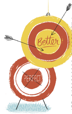 Aim For Better, Not Perfect!