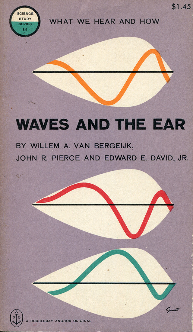 Waves and the Ear  by Willem A. Van Bergeijk, John R. Pierce and Edward E. David, Jr.