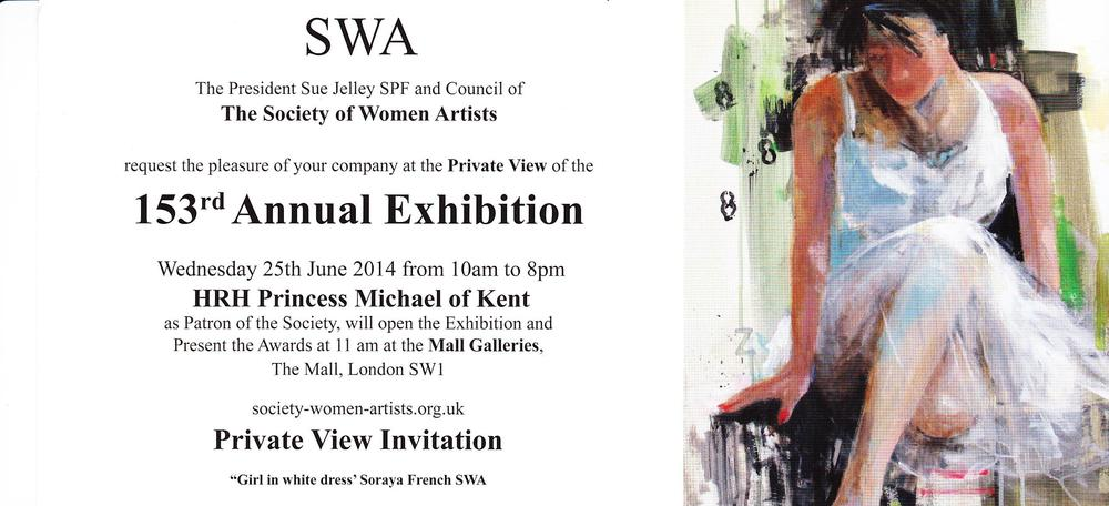 Private view invitation