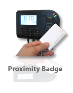 American Payroll Services can offer various punch collection options such as Proximity Badges