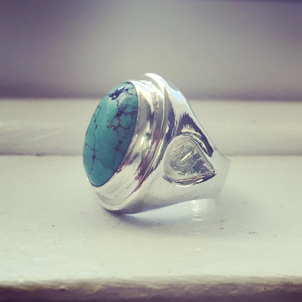 Turquoise ring rework
