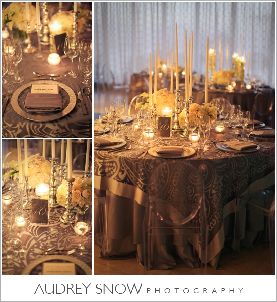 Tablescapes with candles aglow