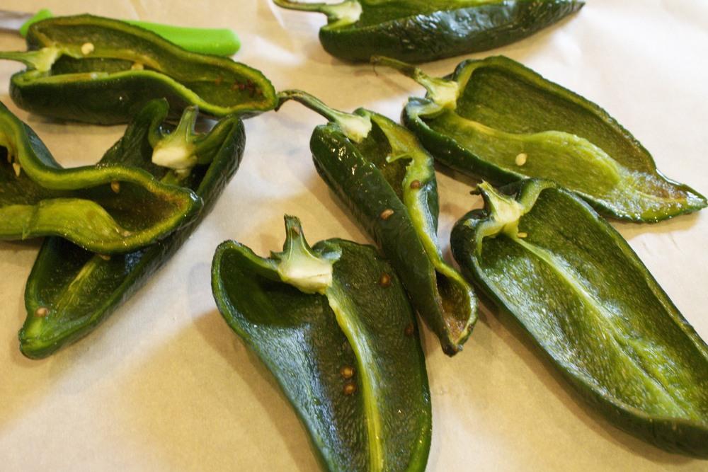 cornbread stuffed poblano peppers