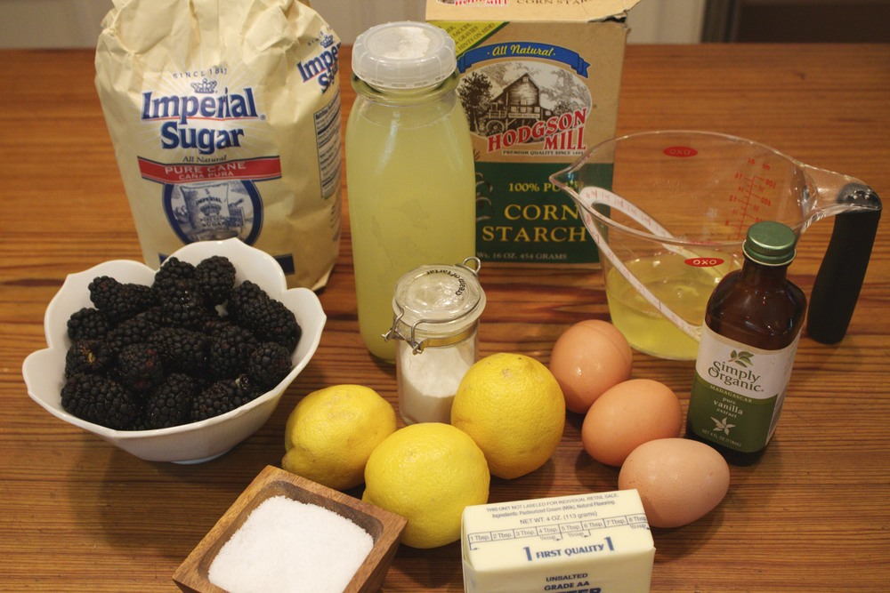 lemon meringues with lemon curd and berries