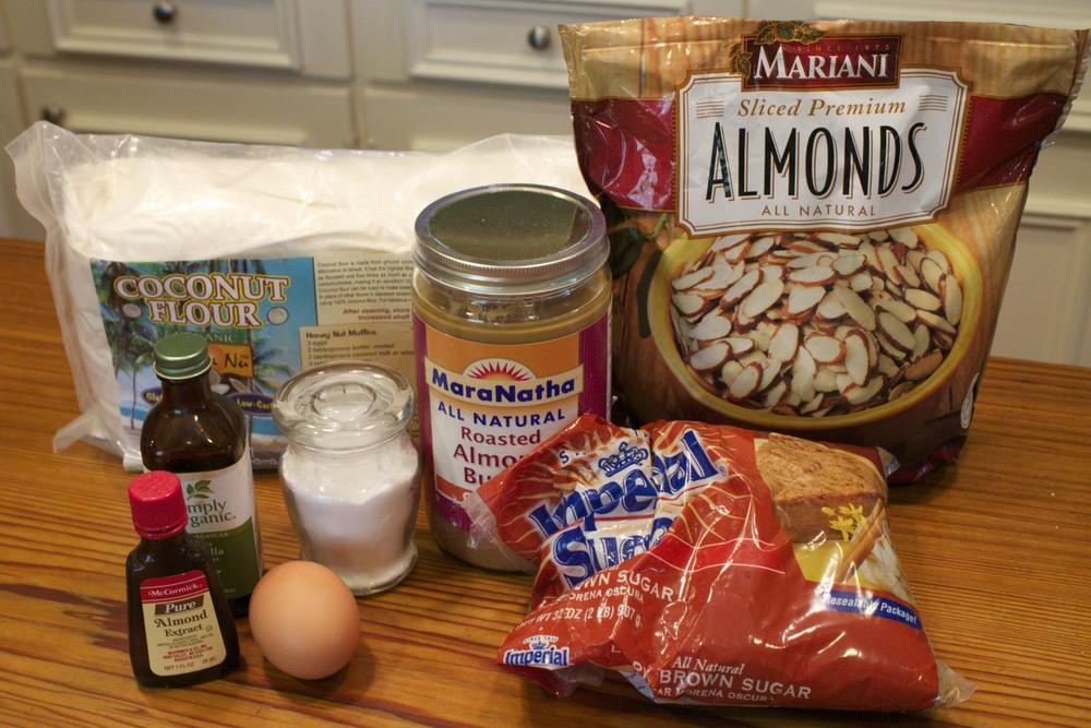 gluten free almond cookies